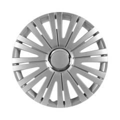 PKW Radzierblende Monaco 15 zoll, silber/chrom, 4 Stück