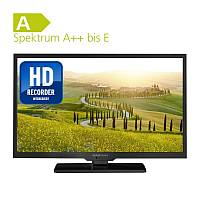 Alphatronics Flat-TV mit DVD Player SL-24 DSB+ H