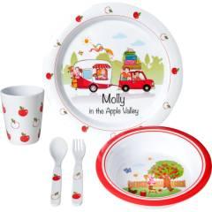 Brunner Molly Kids Girl 3+ Kinder Geschirr-Set