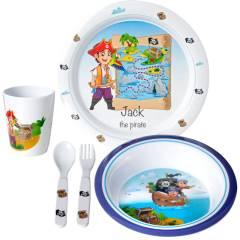 Brunner Jack Kids Boy 3+ Kinder Geschirr-Set