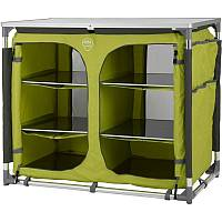 Defa Color Line Double Campingschrank - lime