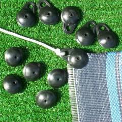 Befestigungsclips für Vorzeltteppiche