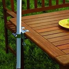 Tischklammer für Sonnenschirme