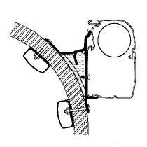 Omnistor Adapter für Hymer S Klasse bis Baujahr 1994