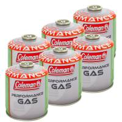 6 x Coleman Ventilkartusche 500