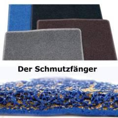 Industrie Fußmatte schwarz 40 x 60 cm