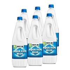 6 x Thetford Aqua Kem Blue 2l Flasche